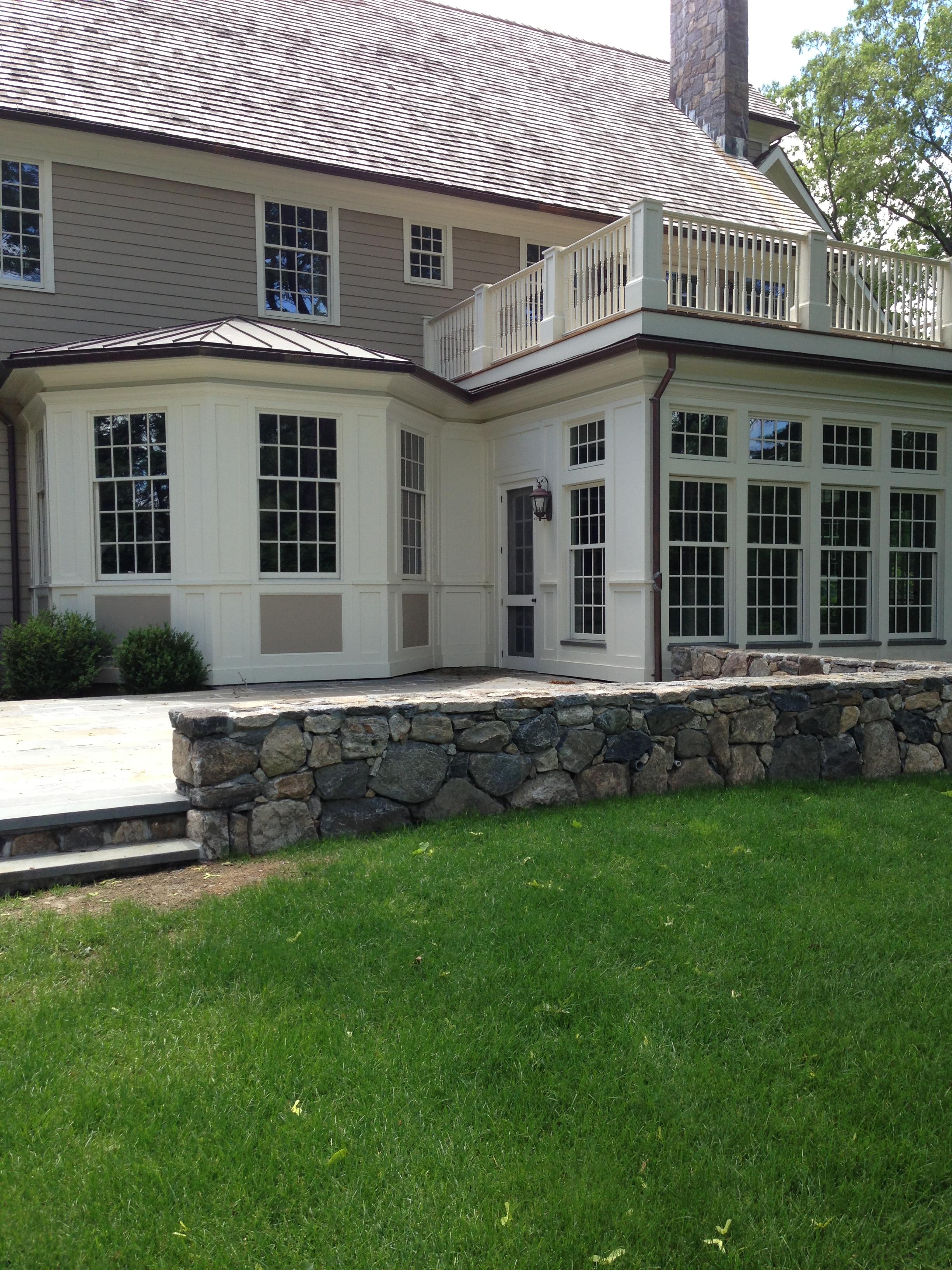 6 Sunroom And Deck Fairfield County Construction